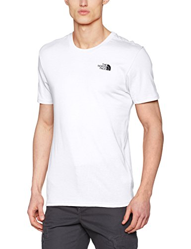 The North Face Herren T-Shirt Simple Dome, weiß (tnf white), (Herstellergröße: X-Small) North Face Dome