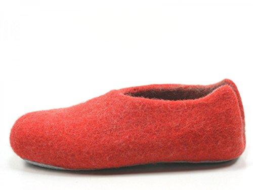 Rohde 7980 Népal Pantoufles Femmes Rot