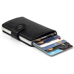 Porta Carte di Credito da Uomo | Portafoglio per Carte di Credito e Banconote con Protezione RFID | Design da Business… 7 spesavip
