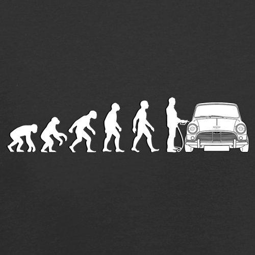 Evolution of Man - Mini Fahrer - Herren T-Shirt - 13 Farben Schwarz