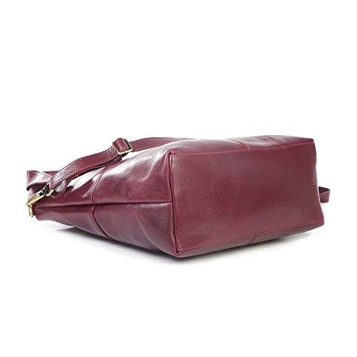 The Leather Store , Cabas pour femme Pourpre violet violet