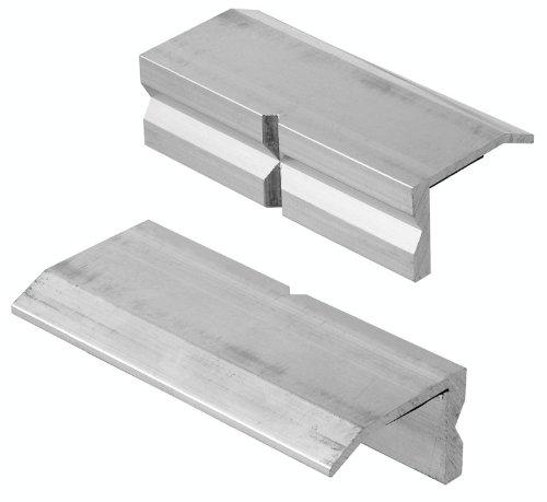 Connex COXT870111 Aluminiumbacken für Schraubstöcke, 100 mm