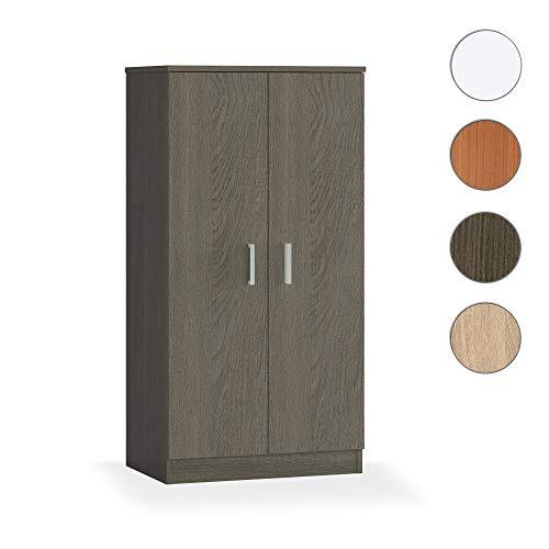 Habitdesign Basic - Mueble zapatero, dos puertas, Toscana, 108 x 55 x 36 cm de fondo
