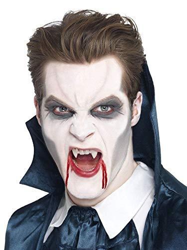 e-up Schminke Schwarz/Grau/Weiß Halloween Karneval Fasching Werwolf Zombie Totenkopf Frankenstein FX ()