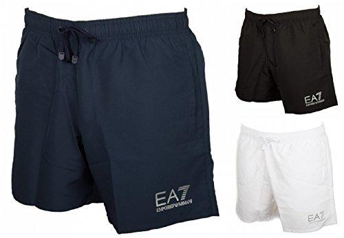 EA7 Emporio Armani Sea World Swim Shorts In Black
