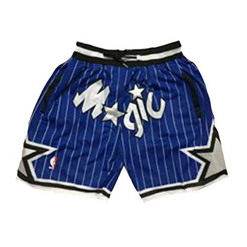 YDYL-LI Orlando Magic Tracy McGrady Basketball-Fans Jersey Atmungsaktive Mesh-Shorts, Sport-Shorts Trainingsanzug,L