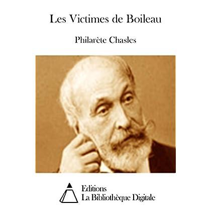 Les Victimes de Boileau