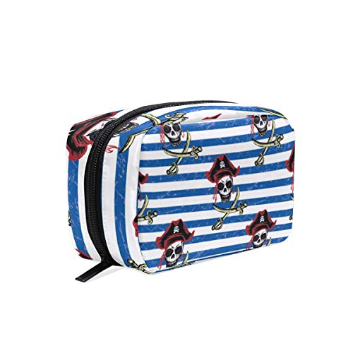 Bolsa maquillaje Stripe Pirate Cosmetic Pouch Clutch