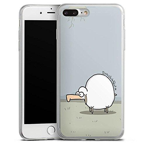 Apple iPhone 5c Slim Case Silikon Hülle Schutzhülle DirtyWhitePaint Fanartikel Merchandise Günther das Schaf Silikon Slim Case transparent