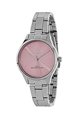 Reloj Marea Mujer B41230/6 Metal Esfera Rosa