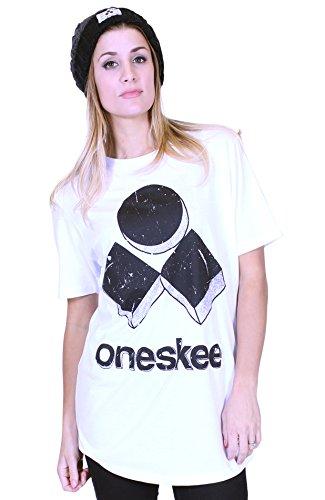 Oneskee Apres - Maglia sportiva -  donna White 44-46 (M)