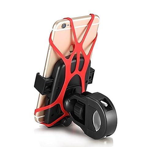 Yugee®Universel Support Guidon de vélo, moto, VTT pour GPS, téléphone