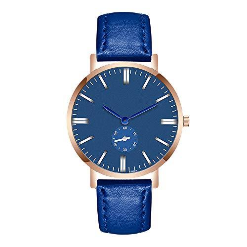 Uhren Herren Klassisch Uhr Analoge Quarz Armbanduhr der Art und Weisemann Armband Stahl Luxuriös Business Uhr Armbanduhren Exquisit Uhr,ABsoar