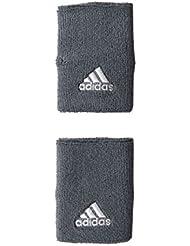 adidas poignet de tennis large gris