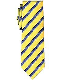 cravate rayée stripe textures II yel