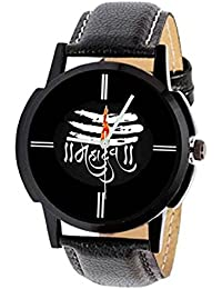 Bright Watches Analogue Black Dial Men's Watch-BW07