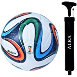 RAHICO CLUB Brazuca 32 Panel Hand Stitched Football (Size 5)