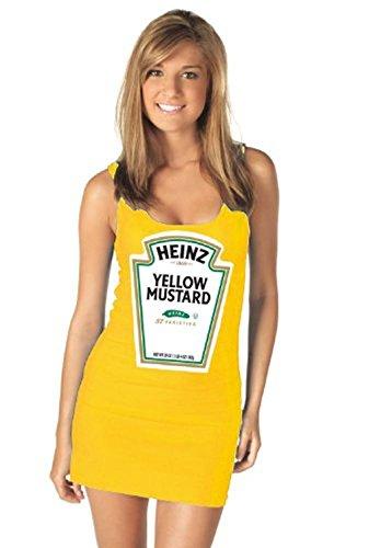 tv-store-heinz-mustard-gold-juniors-tank-dress-juniors-large