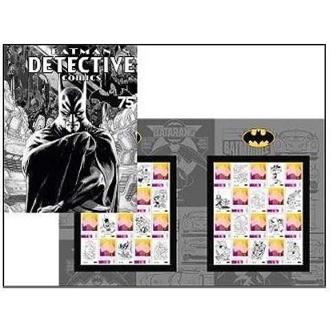 Batman's 75th Anniversary Batman Detective Collectible Postage Stamps by Australia (Australia Post)