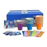 Caffè Borbone Kit Accessori per Bevande, Plastica, Multicolore, 20 x 10 x 20 cm, 150 Unità