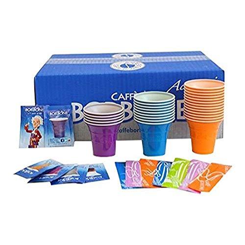 Caffè Borbone Kit Zubehör für Getränke, Mehrfarbig, 150Einheiten - Getränke-einheit