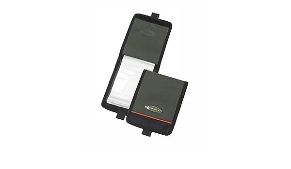 Farbe Moosgr/ün T/ütchen Sind weichplastikresistent Kinetic Rig Wallet mit 10 Zip-Lock Beuteln Gr/ö/ße 20x16cm
