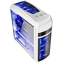 Coolbox DG-C9K-WH-0 - Caja de ordenador de sobremesa (ATX , USB 3.0) blanco