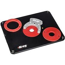 Kreg PRS4038 - Placa de guía para fresadora, color negro