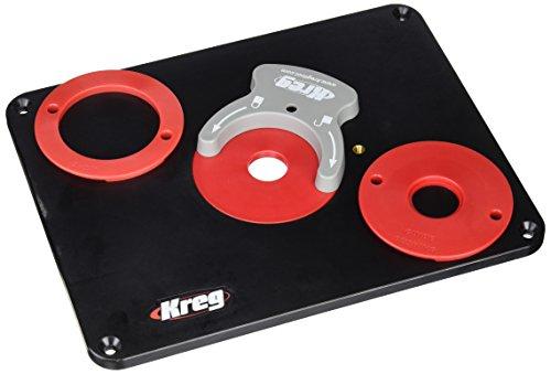 Preisvergleich Produktbild Kreg Einsatzplatte ohne Montagebohrungen, 1 Stück, schwarz, PRS4038