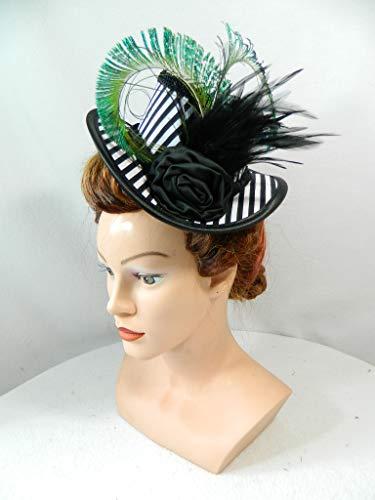 - Schwarz Und Weiß Viktorianischen Perücke