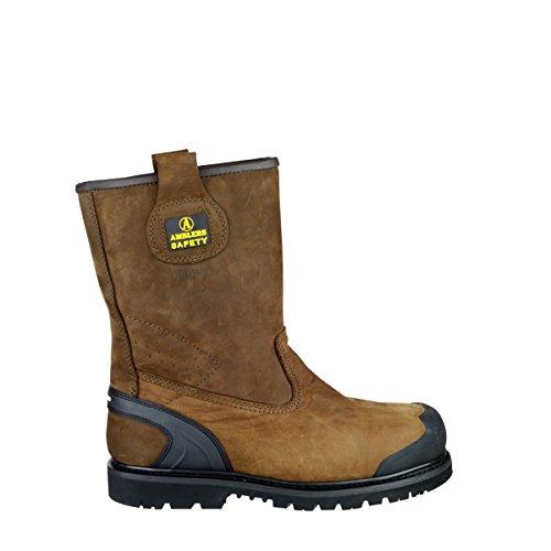 Amblers Steel , Chaussures de sécurité pour homme Marron - marron