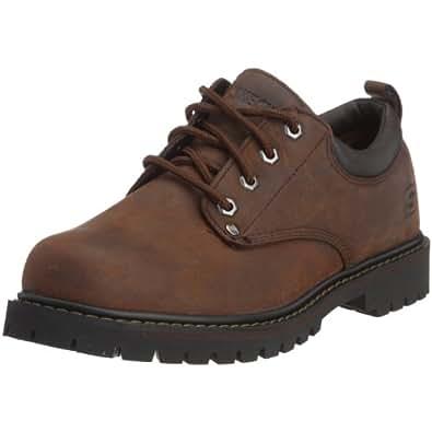 Skechers Men's Tom Cats 6618/BOL, Chukka Boots, Dark Brown, 5.5 UK (39 EU)