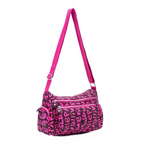 Ms. Messenger Bag Femminile BUKUANG Oxford Di Nylon Piccola Borsa Borsa Mamma Di Mezza Età Borsa Da Viaggio Di Tela,P L