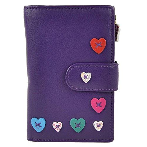 Mala Leather, Sac de Satchel pour femme - Morado