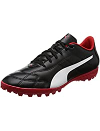 Puma Men's Classico C Tt Black-White-High Risk Red Football Boots