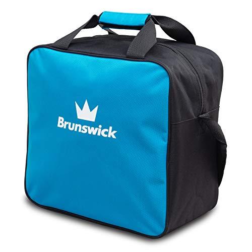 Brunswick TZone Single Tote 1-Ball-Bowling-Tasche für einen Bowlingball (Hellblau) (Bowling Bag Für Einen Ball)