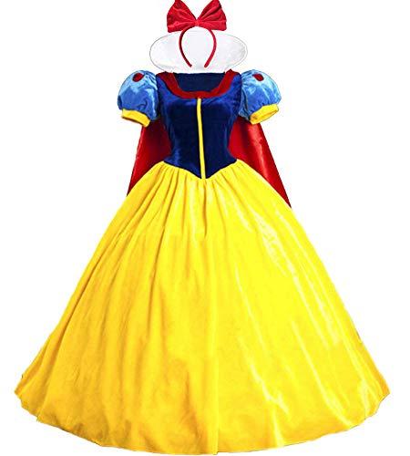 n Prinzessinnen-Kostüme für Damen, Halloween-Kostüm, Petticoat Gr. Small, schneeweiß ()