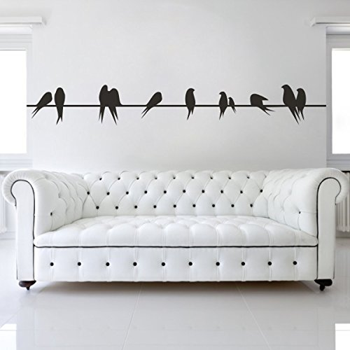home-decor-modern-wall-decal-birds-on-a-wire-vinyl-family-living-room-art-stickerblack-large-by-wall