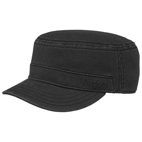 bugatti-flexform-armycap-fullcap-baumwollstretch-m-schwarz