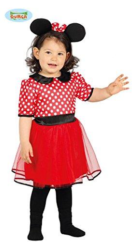 Costume da baby minnie per bambini 12-24 mesi