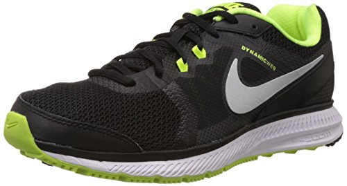 Nike Zoom Winflo, Chaussures de Running Entrainement Homme Black/Mtllc Silver-Vlt-Drk Gry