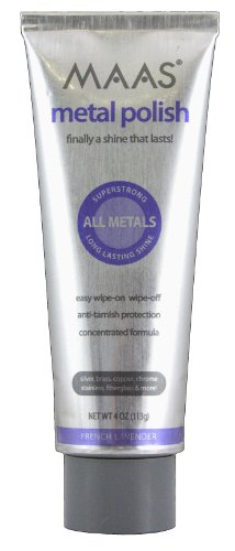 Maas Concentrated Metal Cleaning & Polishing Creme, 113g