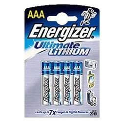 Energizer L92 Lithium Batterie AAA, 1,5 Volt,1260mAh 4er Blister (Aaa-batterien Lithium-ionen)