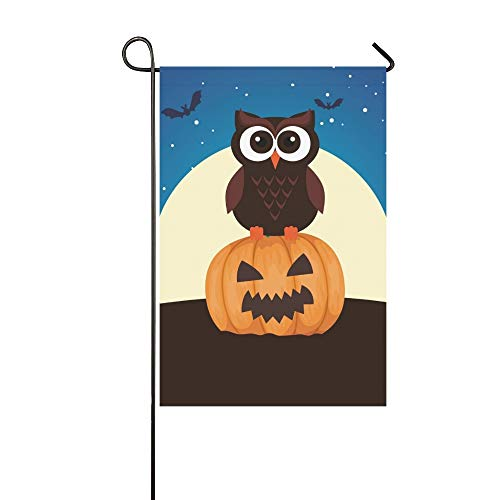Cartoon Charakter Einfache Kostüm - Dekorative Outdoor Double Sided Halloween Eule