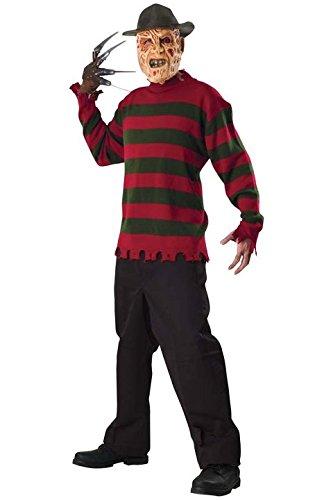 MORRIS COSTUMES, Freddy Krueger SWEATER XL (Morris Kostüm Xl)