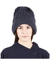 BRUNELLA GORI Cappello Lana Invernale Unisex Berretto Uomo Donna per  Autunno e Inverno Cappelli Lavorati a a76ee4afa0a0