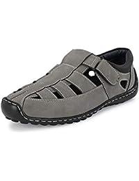 Centrino Men's 6113-01 Fisherman Sandals