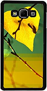 PrintVisa Case Covers for Samsung Galaxy A3 (D7859 Love Leaf)