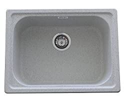 ZINZER Granite Kitchen Sink : The 24 X 18 - Grey color