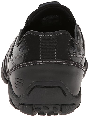 Skechers Diameter Zinroy, Mocassins Homme Noir (Bbk)